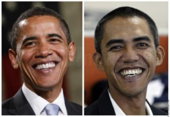 Barack Obama vs Ilham Anas