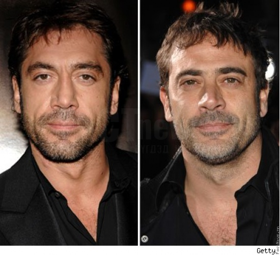 Javier Bardem and Jeffery Dean Morgan