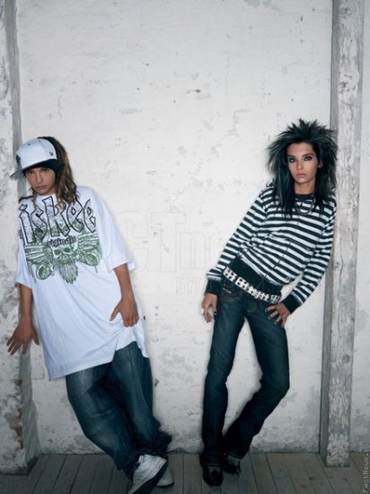 Bill Kaulitz Tom Kaulitz