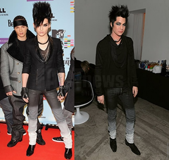 Bill Kaulitz Adam Lambert