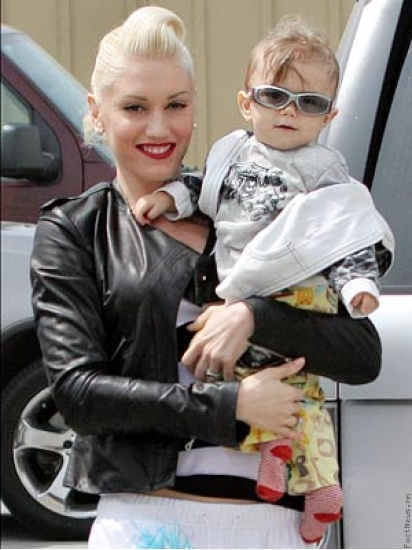 Gwen ба Kingston Rossdale